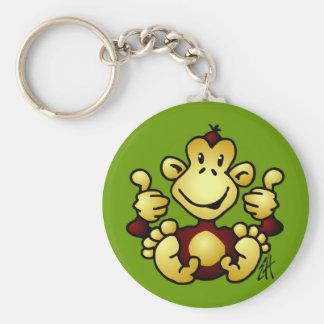 Mono maníaco llaveros