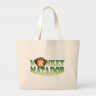 Mono Matador Bolsa Lienzo