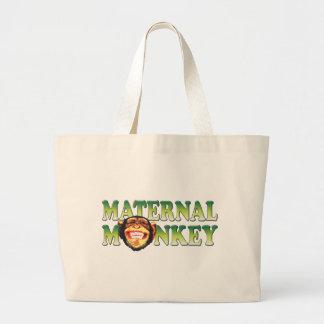 Mono maternal bolsa