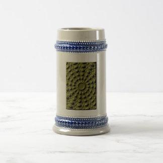 Mono moderno coloreada jarra de cerveza
