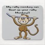 Mono Mousepad de la reunión Alfombrillas De Raton