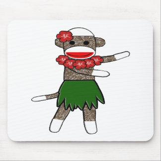 Mono Mousepad del calcetín de Hula Alfombrillas De Ratón