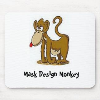 Mono Mousepad del diseño de la máscara