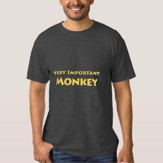 Mono muy importante playera