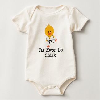 Mono orgánico del bebé del polluelo del Taekwondo Body Para Bebé