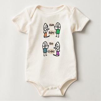 Mono orgánico demasiado lindo del bebé por mameluco