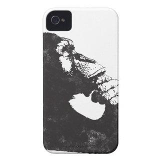 Mono pensativo iPhone 4 protector