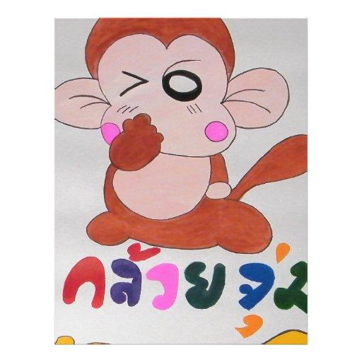 mono plantillas de membrete
