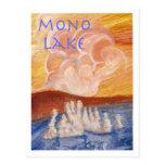 Mono postal del lago