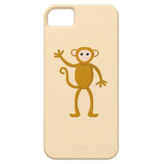 Mono que agita iPhone 5 funda