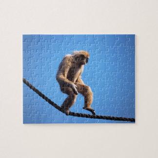mono que camina en cuerda puzzles
