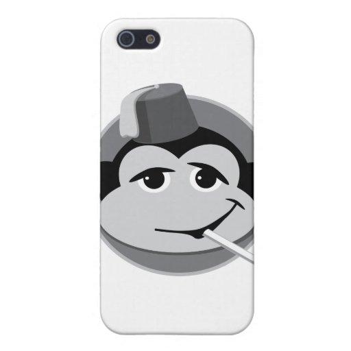 mono que fuma iPhone 5 carcasas