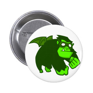¡Mono radiactivo Pin