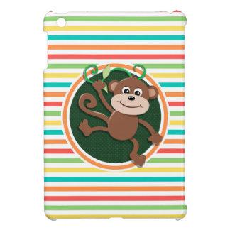 Mono Rayas brillantes del arco iris