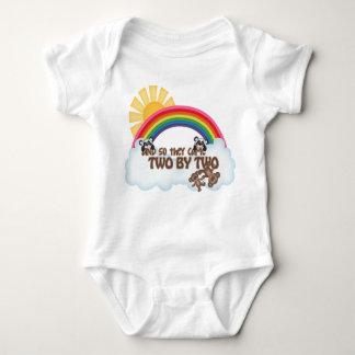Mono religioso del jersey del bebé