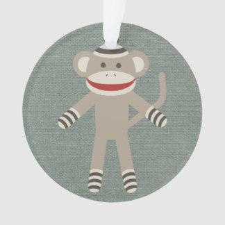 Mono retro del calcetín