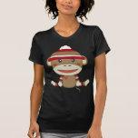 Mono retro del calcetín camiseta