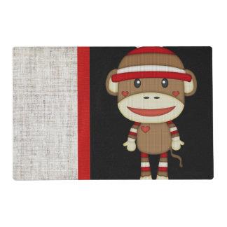 Mono retro del calcetín tapete individual