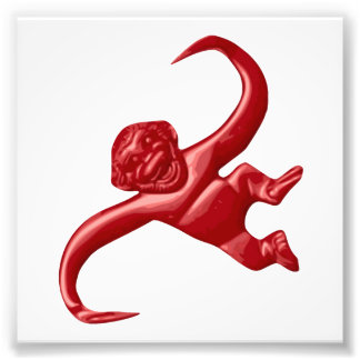 Mono retro del juguete de la pesadilla