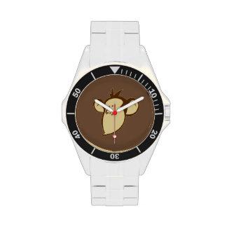 Mono sentimental reloj de mano