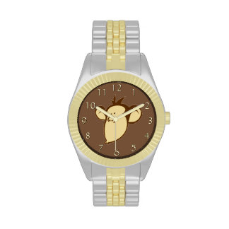 Mono sentimental relojes de pulsera