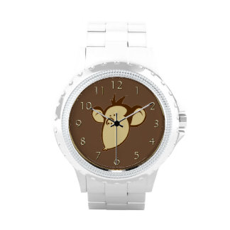 Mono sentimental relojes de mano