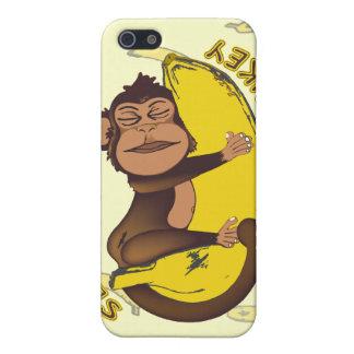 Mono soñoliento iPhone 5 protectores