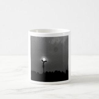 mono sunrise coffee mug