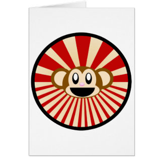 ¡Mono! Tarjeta De Felicitación