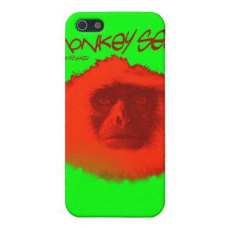 Mono Unblemished 3 del caso del iphone iPhone 5 Carcasas