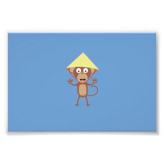 Mono vietnamita cojinete