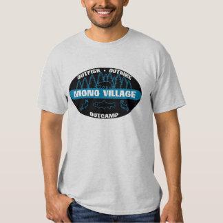 Mono Village 'Survivor' Blue Tee Shirt