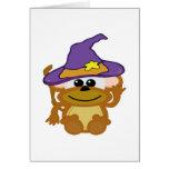 mono witchy de los goofkins tarjetas
