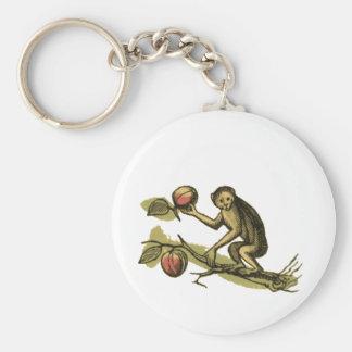 Mono y sus cocos llaveros