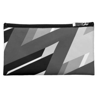 Mono Zig-Zag Designer Mini Bag/Clutch Makeup Bag