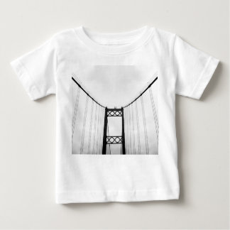 Monochromatic Black and White Bridge Baby Tshirt