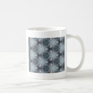Monochromatic Starburst Pattern Coffee Mug