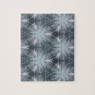 Monochromatic Starburst Pattern Puzzle