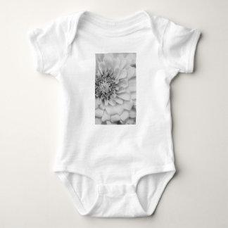 Monochromatic Zinnia Baby Bodysuit