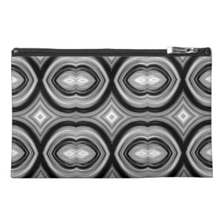 Monochrome Abstract Pattern. Travel Accessory Bags