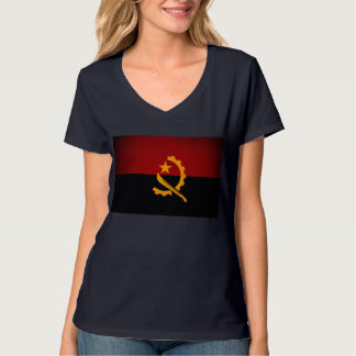 Monochrome Angola Flag T-Shirt