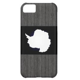 Monochrome Antarctica Flag Cover For iPhone 5C