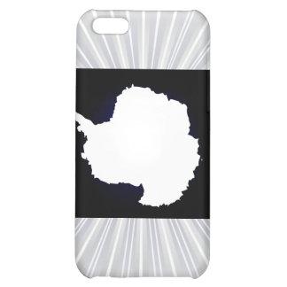 Monochrome Antarctica Flag iPhone 5C Case