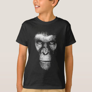 Monochrome  Ape Face T-Shirt