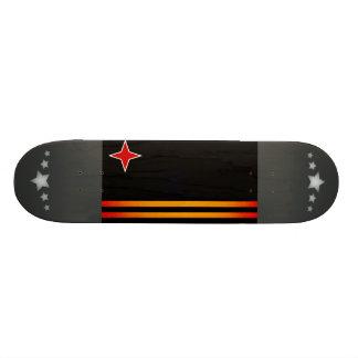 Monochrome Aruba Flag Skate Deck
