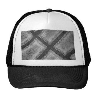 Monochrome Basketball Custom Color Hats