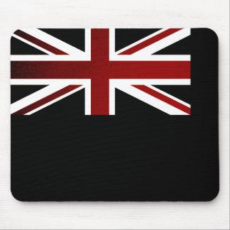 Monochrome British Virgin Islands Flag Mousepads