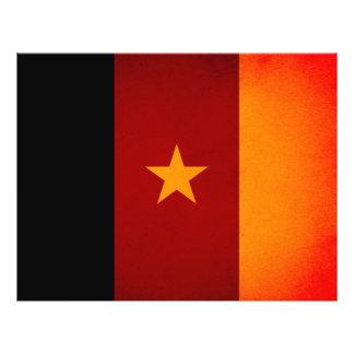 Monochrome Cameroon Flag Flyers