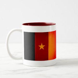 Monochrome Cameroon Flag Mug