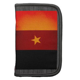 Monochrome Cameroon Flag Folio Planners